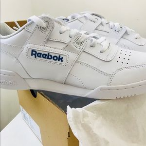 Reebok Shoes - Reebok Classic Workout Plus Runner Leather Shoes 25bd09a12